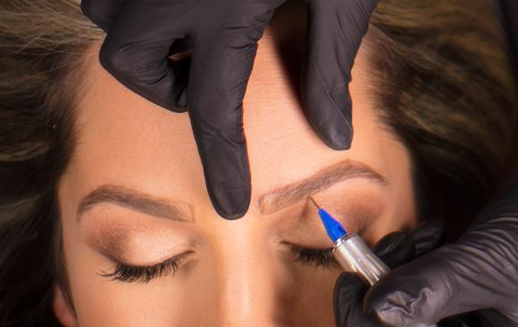 Tatouage sourcils microblading brest finistere
